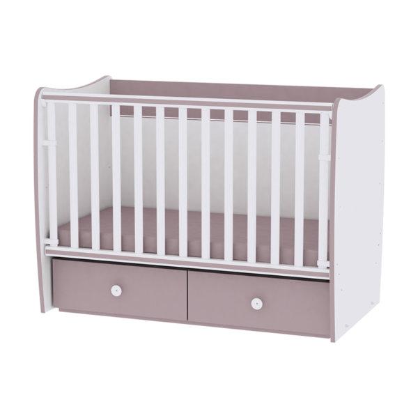 A Lorelli Бебешко легло Matrix New 60/120 бяло/капучино 10150490025A