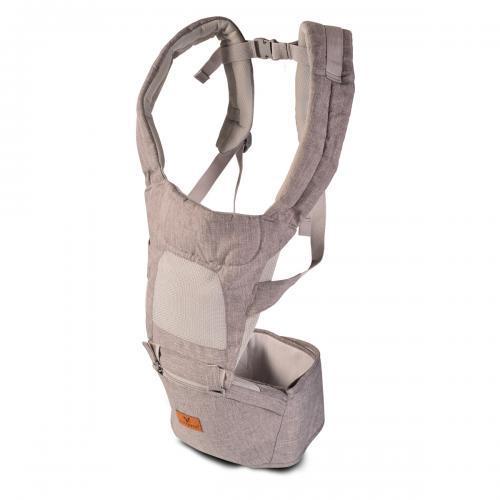 Cangaroo Бебешко кенгуру  I Carry светло сив