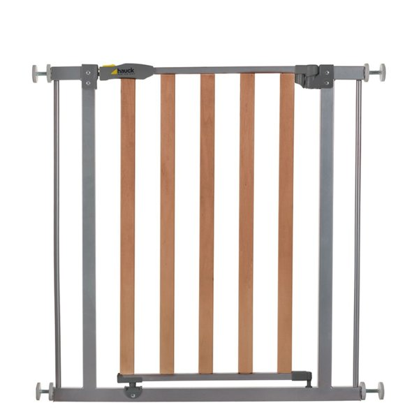 Hauck Преграда Wood Lock Safety Gate silver 597033