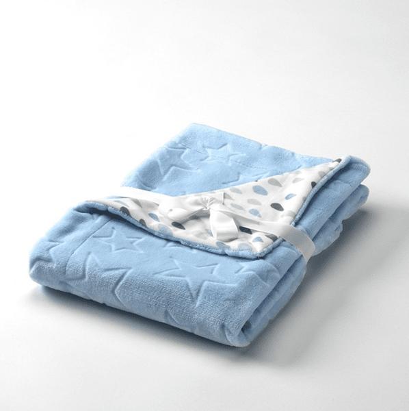 Mora Бебешко одеяло Baby Galaxy 80x110 см синьо G80/05
