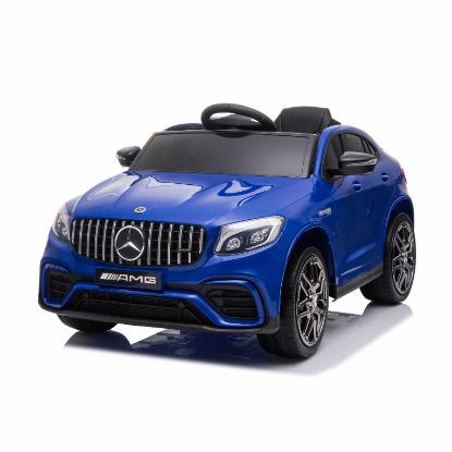 Moni Акумулаторен джип Mercedes AMG GLC 63 S Металик Син QLS-5688