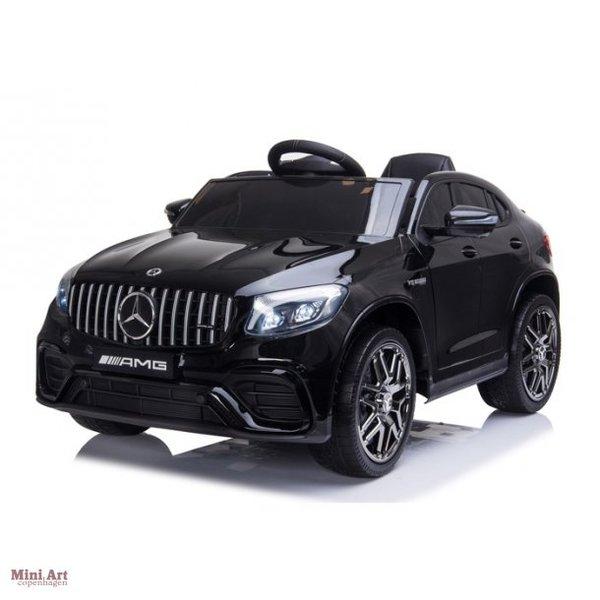 Moni Акумулаторен джип Mercedes AMG GLC 63 S Металик Черен QLS-5688