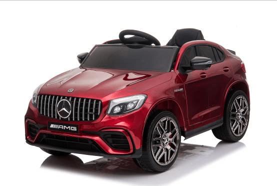 Moni Акумулаторен джип Mercedes AMG GLC 63 S Металик Червен QLS-5688