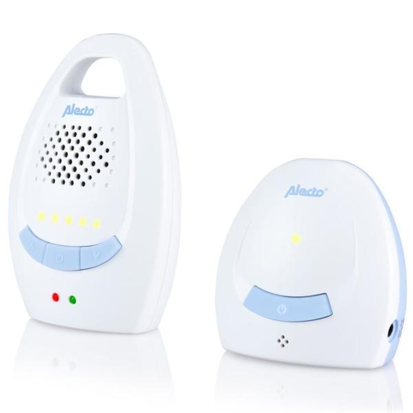 Alecto Дигитален бебефон бяло/синьо DBX-10