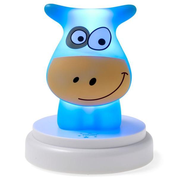 Alecto Детска нощна LED лампа Кравичка