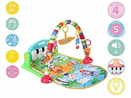 KioKids Бебешка активна гимнастика с пиано за крачета 01919