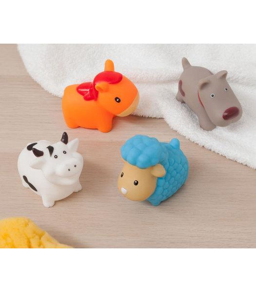 Kiokids Гумени домашни животни за баня 4бр 2166