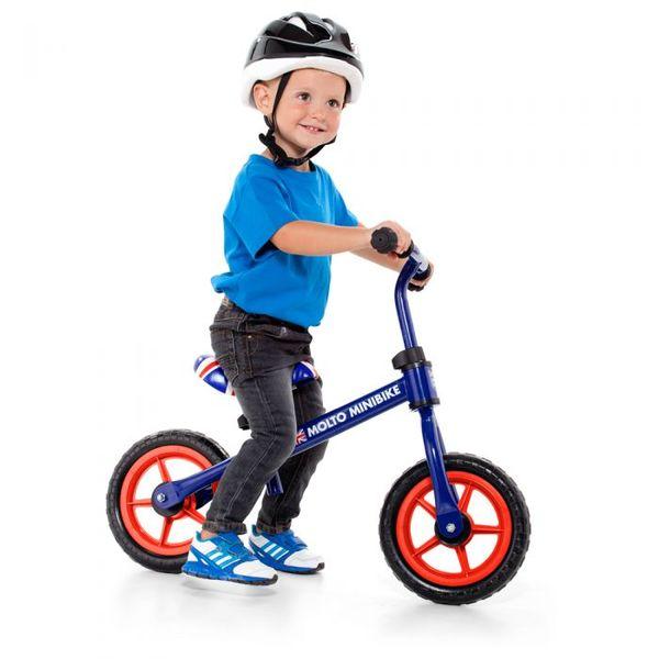 Molto Бебешко колело за баланс синьо до 20кг 16225