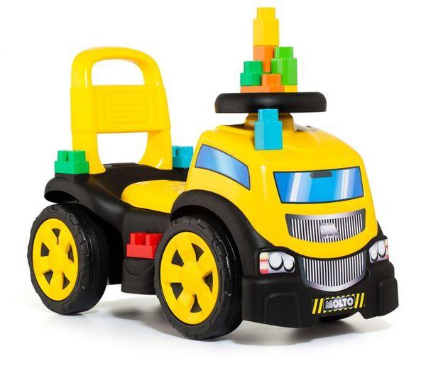 Molto Бебешка кола за яздене до 20кг с конструктор 10 елемента 17220