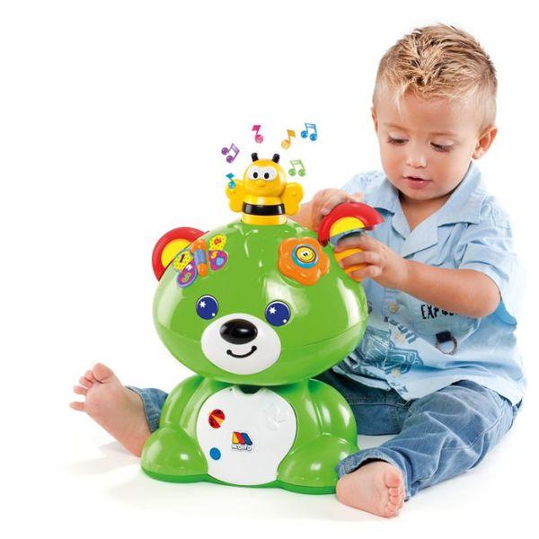 Molto Бебешка музикална играчка с 6 различни активности Мече 12м+ 13501