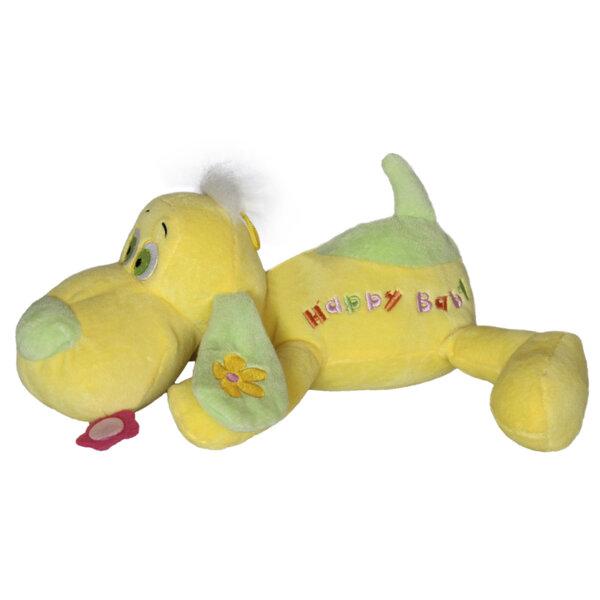 """Amek Плюшена играчка Бебешко куче """"Happy baby"""" 29см. 040246"""