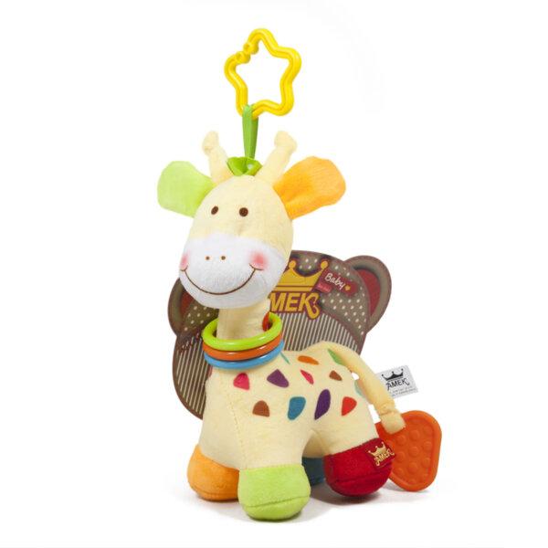 Amek Бебешка играчка жирафче 22см 090649