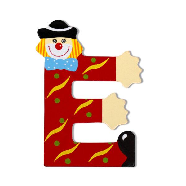 Amek Декоративна дървена буква /от Е до К/ за 1бр