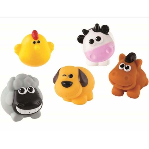 ANEK Бебешки гумени играчки Домашни животни Smily Play 001302