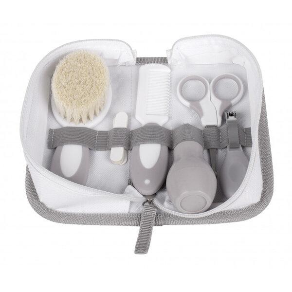 Interbaby Хигиенен комплект 6 части за бебе сив 1-31 NECE
