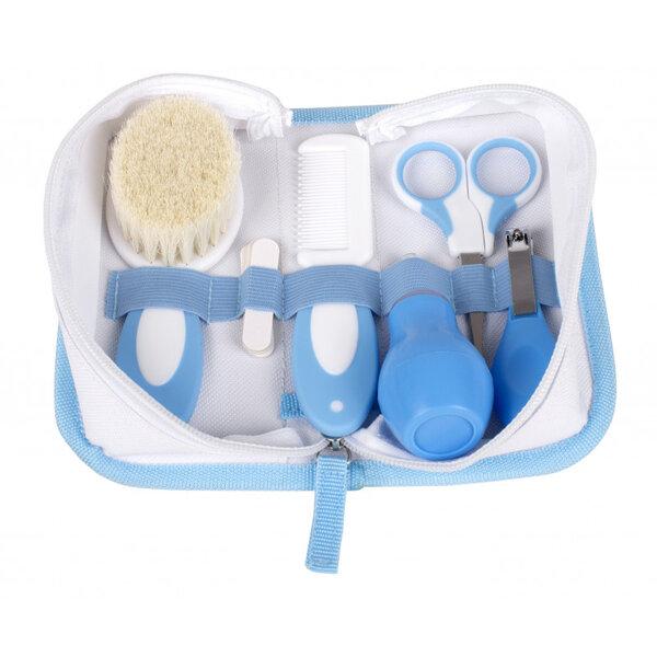 Interbaby Хигиенен комплект 6 части за бебе син 1-01 NECE