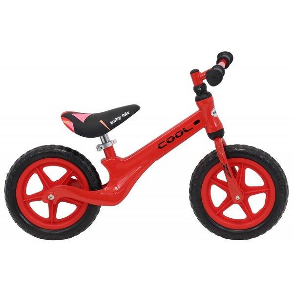 """Baby Mix Детско балансиращо колело ALU 12""""/червено/ ET-P07 RED"""