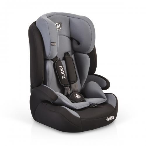 Moni Детски стол за кола Armor 9-36кг тъмно сив