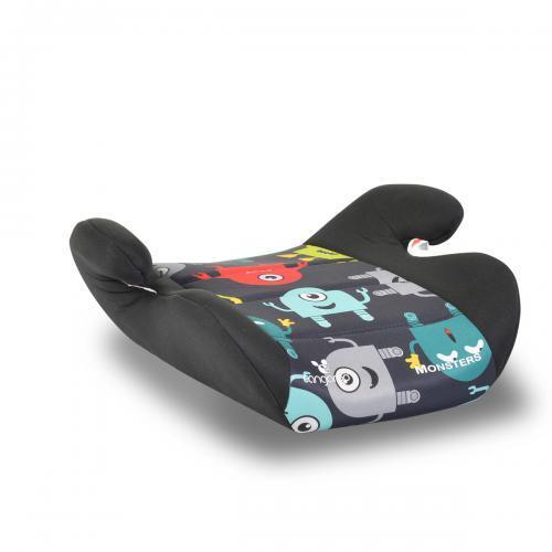 Cangaroo Анатомична седалка за кола Monsters (15-36 кг.) черен