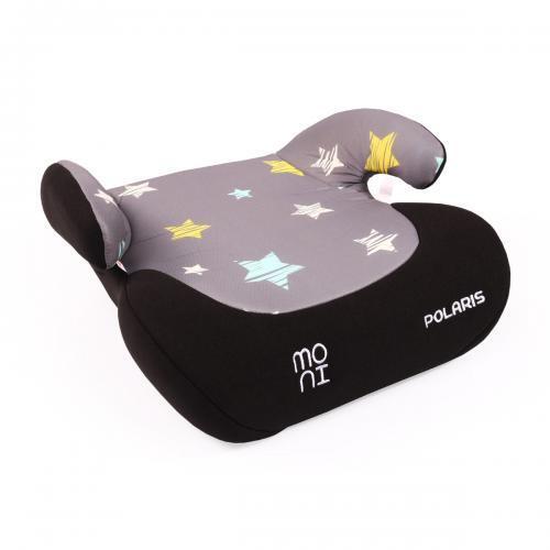 Moni Детска анатомична седалка за кола Polaris 15-36кг  Stars