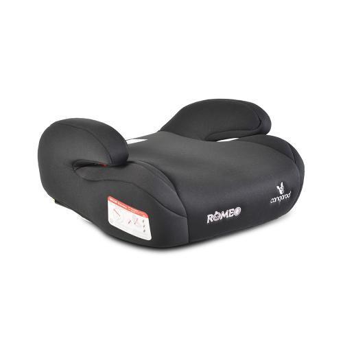 Cangaroo Детска анатомична седалка за кола с Isofix Romeo 22-36кг черен