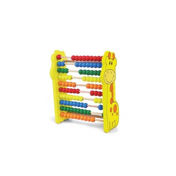 ANEK Дървена играчка за нанизване - сортер AC7667