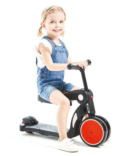 Chipolino Детска играчка скутер 4в1 ALL RIDE DSAR02002RD - червен