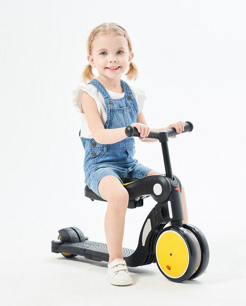 Chipolino Детска играчка скутер 4в1 ALL RIDE DSAR02003YE - жълт
