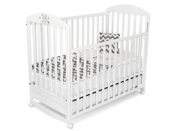 Bucko Детско дървено легло - кошара Kiki бяла 050202