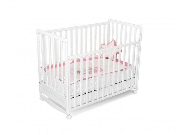Bucko Бебешко легло Mikaela бяло 050212