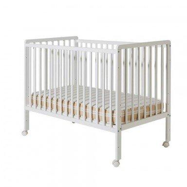 Bucko Бебешко легло Minny бяла