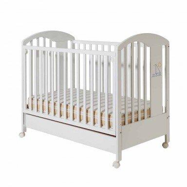 Bucko Бебешко легло Lilly - White Blue
