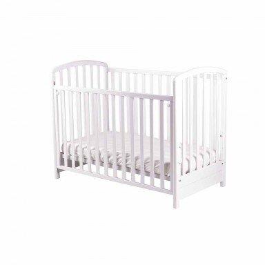 Bucko Бебешко легло Mirta - White