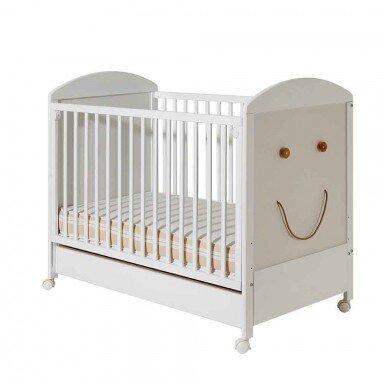 Bucko Бебешко легло Smile - White