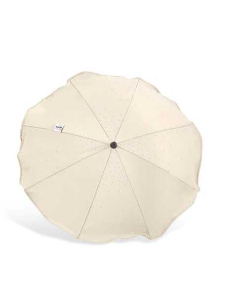 Cam Кръгло чадърче за детска количка бежово