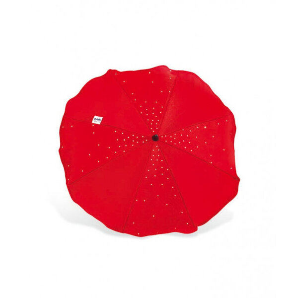 Cam Чадърче за детска количка червено с кристали