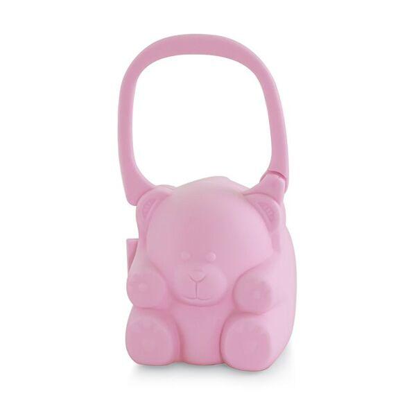 MINILAND BABY Кутия за залъгалка Светло розова 89251
