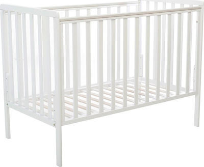 Bebe Stars Бебешко легло Piccolo 60/120 см бяло 406-02