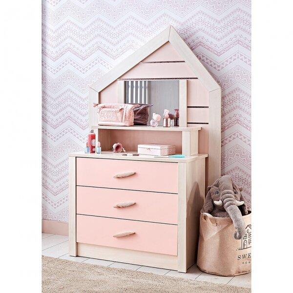 Bebe Stars Скрин-тоалетка Pink House 425-17