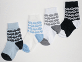 Olay Socks Бебешки чорапи сърце микс 2010012-Copy