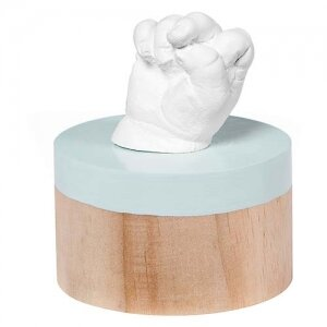 Baby Art Отливка с дървен постамент My Very First 3D Baby Art BA-00006