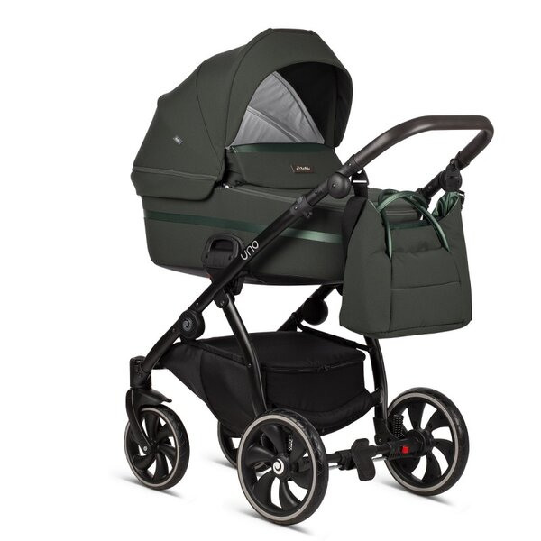 Tutis Комбинирана бебешка количка Uno 2 в 1 Зелена col.144 Pistachio