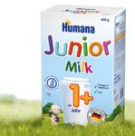 Humana Бебешко адаптирано мляко Junior 12+ 600 гр.