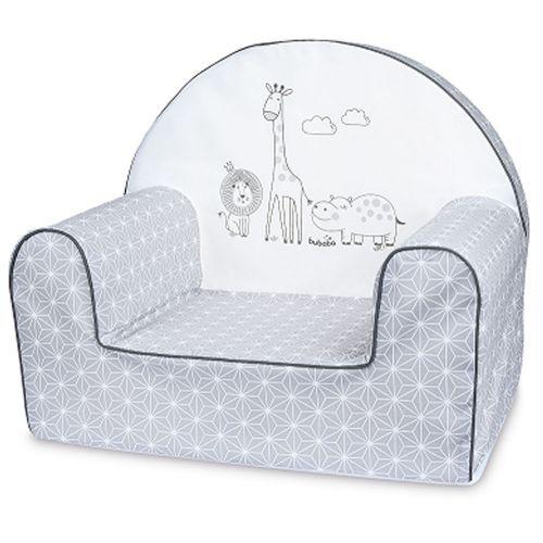 Bubaba Бебешки фотьойл Сафари (сив) 37193