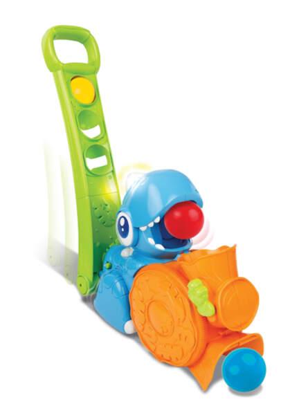 Anek Детска играчка буталка с топки Дино