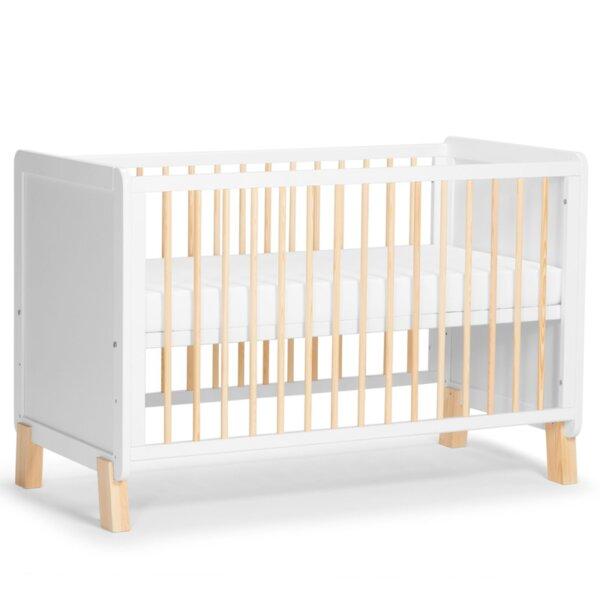 Kinderkraft Бебешко легло Nico 60/120 см бяло