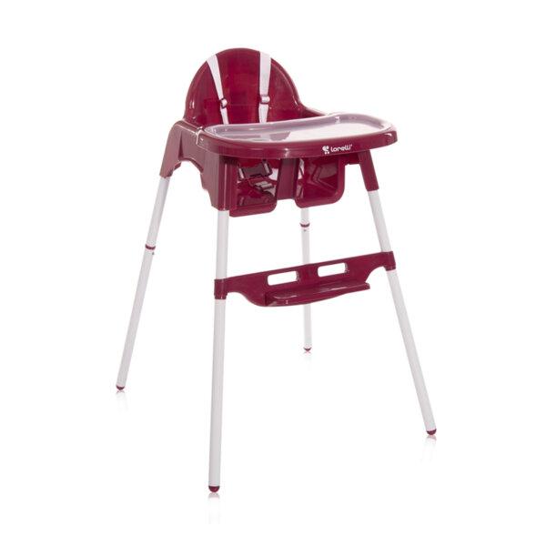Lorelli Столче за хранене Amaro Dark Pink 10100290006