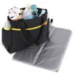 Lorelli Чанта за количка с термоджоб Basic Black 10040130002-Copy