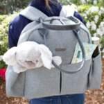 Nanobébé Раница за памперси The Bebe Backpack с повивалник 31700