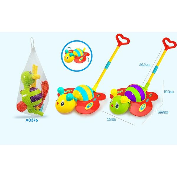 Anek Бебешка играчка за бутане Пеперуда 0376